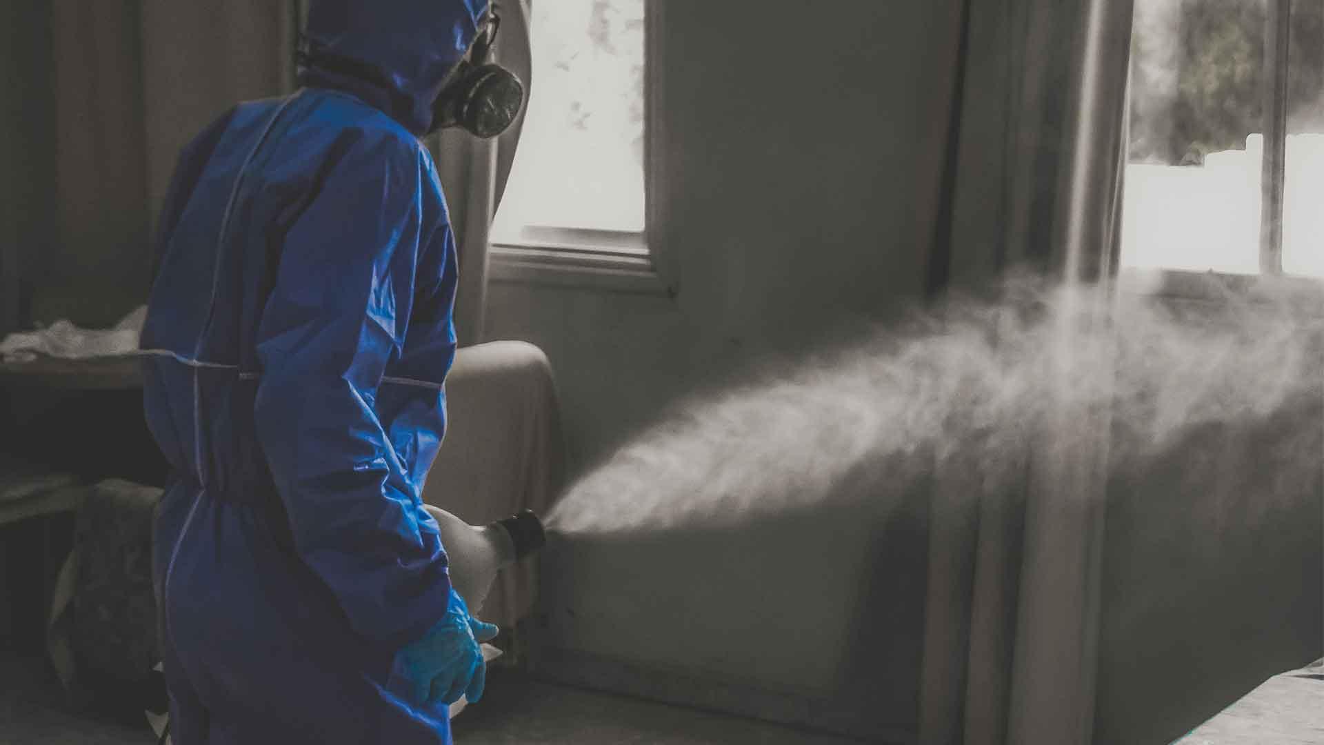 Fertőtlenítő takarítás