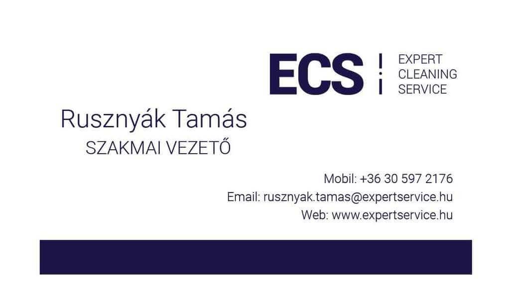 Rusznyák Tamás szakmai vezető telefonszám: 06305972176 e-mail cím rusznyak.tamas@expertservice.hu